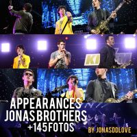 Appearances #01 Jonas Brothers by jonasddlove