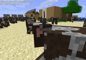 Our server XD COWS ATTACK US by oOCookieChikaOo