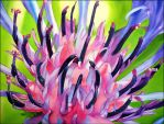 Cirsium flower by Shelter85