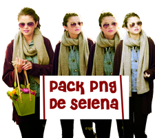 Pack de 4 Png's de Selena Gomez by CutinaEditions