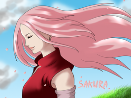 Sakura by xCaeli