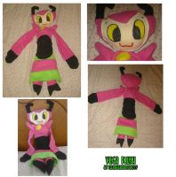 Vega plush by teenagerobotfan777