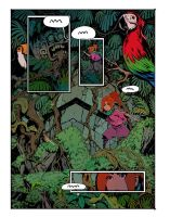 Curse of the Mayans page sample by drazebot