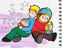 SP: 2 'Butters x Cartman's by Freaky-chan