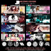 Various Idols - Zing Covers {Gift For Friends} by JadeRiverJR