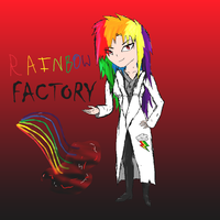 Humanized Rainbow Factory by Whitefire8