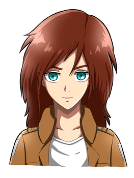 Art Trade: SNK Oc Lily Jones by artycomicfangirl