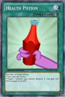 Health Potion (MLP): Yu-Gi-Oh! Card by PopPixieRex