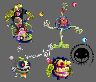 Zombies 9 by vancamelot