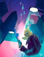 Star Fox / Blade runner by Sythelum