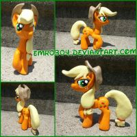 Commission: AppleJack by EmR0304