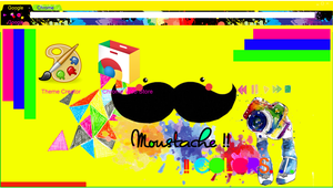 Moustache Colors - Theme Google Chrome by SriitaDeWatt