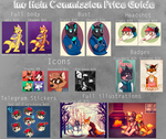 January commissions open by Heiin