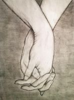 Holding Hands by Catzz93