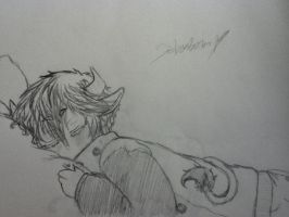 Nap Time... by AbominalSnowDemon