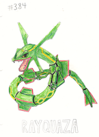 Rayquaza by animageo