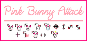 Cursor Set: Pink Bunny by rabbitgirl316