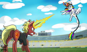 Magic Lesson Duel by Isaacs-Collar