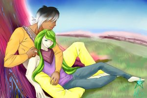 Alone together by HeartyStar
