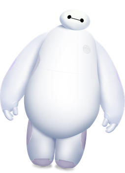 Baymax PNG by nikxxs