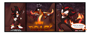 Flame Core Comic - Shadow by zavraan