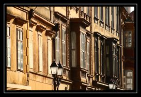 just windows in the city by Ketike
