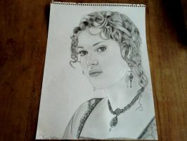 Titanic, Rose Dewitt Bukater by Thessa-drawings