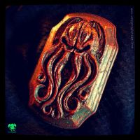 Cthulhu Wall Plaque by JasonMcKittrick
