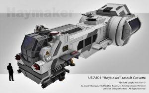 Haymaker Assault Corvette by JFJohnny5