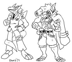 Commish: Alternate Evolution Paths by BlueIke