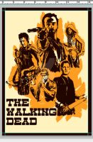 The Walking Dead Western Style by Ryleh-Mason