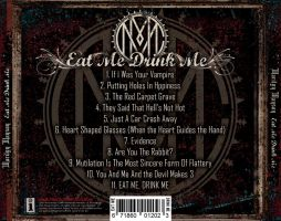 EAT ME DRINK ME BACK COVER by beanarts