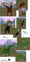 My Spore Dragons by SlyNoodles