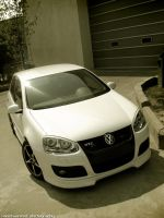 White GTI by MWPHOTO