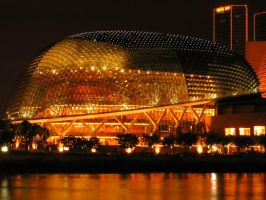 Esplanade Theatres On The Bay by Ronny-Tan