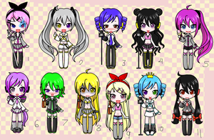Vocaloid adopts 2 :D by Cookie-Catt