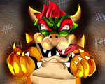 Bowser is not happy. by Rencudia