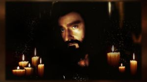 Thorin Oakenshield -Candle Light by stak1073