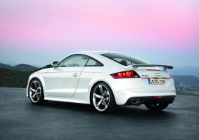 Audi TT-RS 2010 Back by TheCarloos