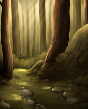 Forest by MapleSpyder