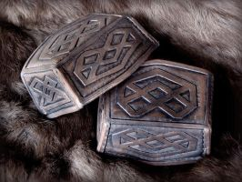 Thorin Boot Caps close-up by rassaku