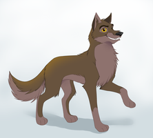 Balto+Speedpaint by Yechii