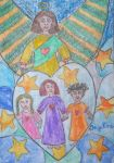Angel of love of children by ingeline-art