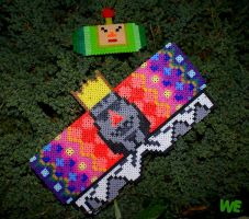 perler  Katamari Prince/The King of All Cosmos by WEcustoms