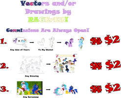 Commissions by RAGErER Advertisement #2 by RAGErER