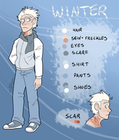 Winter Reference Sheet by JustAutumn