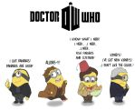 Doctor Who Minions by FeralSonic