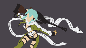 [Request] SAO (GGO) - Sinon by Krukmeister
