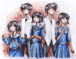 Corpse Party Rebuilt by maskedpeach