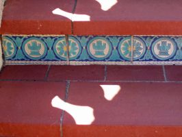 Hearst Castle Floor Tile 1 by cinnamontwoyou